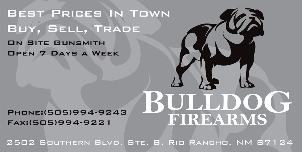 Bulldog Firearms business card 7